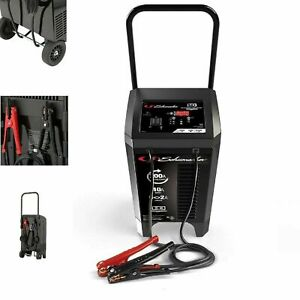 Heavy Duty 6v And 12v 2 200 Amp Automatic Wheeled Battery Charger Jump Starter
