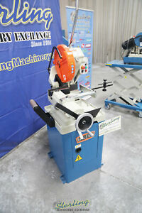 14 Used demo Machinery Baileigh Variable Speed Inverter Driven Cold Saw Md