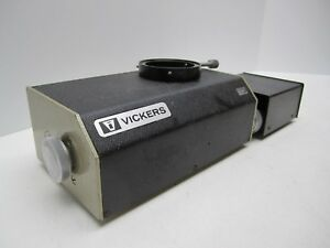Vickers Ltd Instruments 306 Confocal 1285184 Microscope Or Hardness Detector