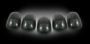 Recon 264143bks Smoked Cab Lights With Strobe Led S 99 13 Ford Superduty