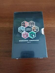 Limited Edition Field Notes workshop Companion Sealed 6 pack Memo Notebooks