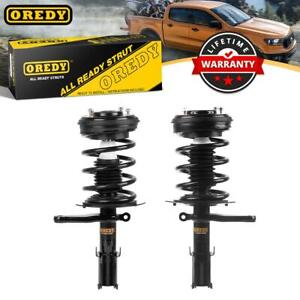 For 98 04 Dodge Intrepid Front Complete Strut W Spring Mounts Assembly X2