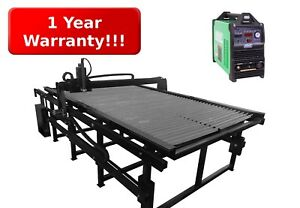 Go Fab Cnc Plasma Table 4 X 8 With Everlast 60s Plasma Cutter