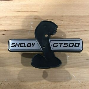 Shelby Gt500 Gt500kr Super Snake Front Grille Receiver With Emblems 07 09