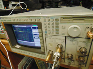 Hp agilent 54750a Digitizing Oscilloscope W Two 54751a 2 channel Plugins