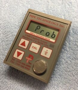 Pipe Technology Inc Digital Simple Thickness Gauge Meter no Probes Usa Made