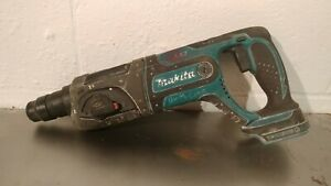 Makita Bhr241 Lxt 18v Cordless 7 8 Sds Plus Rotary Hammer Drill Used Tool Only
