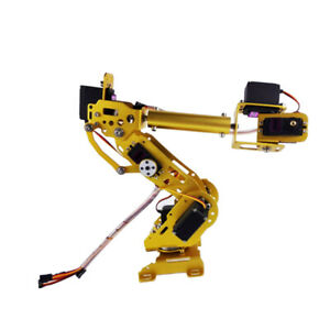 Full Metal 7dof Robot Robotic Mechanical Arm Gripper Mg 996r Servo Arduino