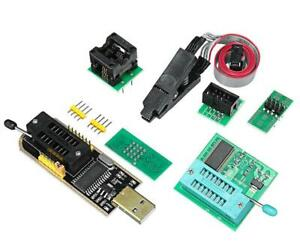 Eeprom Flash Bios Usb Programmer Ch341a Soic8 Clip 1 8v Adapter Soic8 Adapter