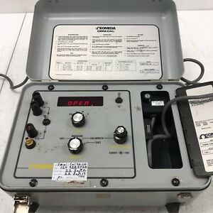Omega Engineering Omni cal 4a 110 Portable Thermocouple Tester Tested Working