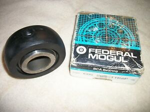 Federal Mogul Bca Bearing Cds209ttr6p Disc Bearing Rubber Mounted 1 53 In Bore