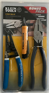 Klein Tools Pliers D213 9ne Wire Cutters 11054 And Ncvt 1