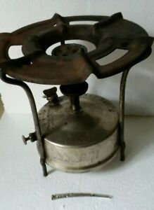 Vtg Antique Brass Big Size Kerosene Stove Primus