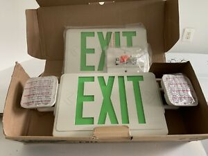 Lithonia Thermoplastic Led Exit Sign emergency Lights