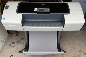 Hp Designjet T1100 Color Wide Large Format Printer 24 Wide With Stand