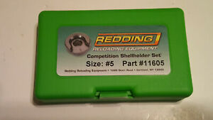 11605 REDDING COMPETITION SHELLHOLDER SET (224 VALKYRIE) - NEW - FREE SHIP