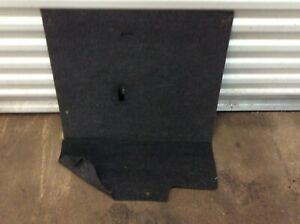 1997 2001 Toyota Camry Rear Passenger Seat Back Trunk Carpet Cover