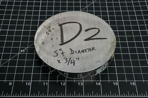 D2 Tool Steel Remnant Cutoff Drop Stock Round Bar Ground Machinist Tool Maker