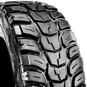 Kumho Road Venture Mt 37x13 50r20 127q Load E 10 Ply Used Tire 14 15 32 105598