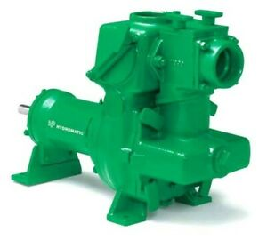 Used Hydromatic 30 Mp Self Priming Sewage And Trash Grinder Lift Pump By Pentair