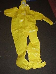 Dupont Tychem Br Xl Overall Personal Protection Chemical Spill Safety Suit
