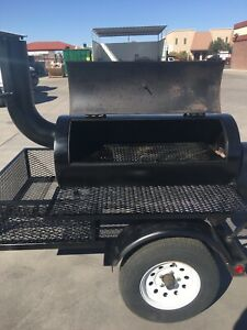 Competetion Bbq Trailer Smoker Super Nice Professional Built