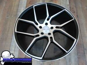 22 Gianelle Giovanna Dilijan 22x9 22x10 5 5x120 Bmw Chevy Camaro Wheels Rims