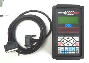 Otc Enhanced Diagnostic Monitor W rubber Protector And 2 Cables P n Otc 4000e