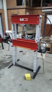 Otc 25 Ton H Frame Shop Press With Otc Electric Hydraulic Pump Upgrade
