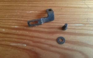 Antique White Rotary Treadle Sewing Machine Dog Feed And Screw