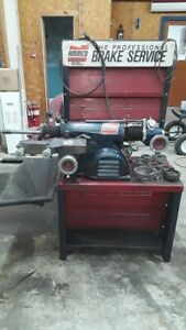 Ammco 4000 Disc Drum Brake Lathe With Adapters Bench