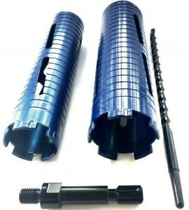 2 5 2 1 2 3 Dry Diamond Core Bit With Sds Max Adapter Center Guide