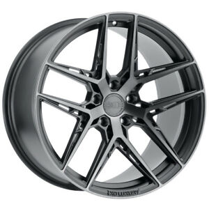 Staggered Xo Cairo Front 19x8 5 Rear 19x9 5 5x120 35mm Graphite Wheels Rims