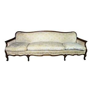 Large 87 W Widdicomb Mid Century French Provincial Sofa Loveseat Chaise Chair