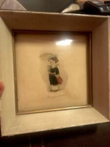 Antique Small Picture Bubble Frame Theophilus