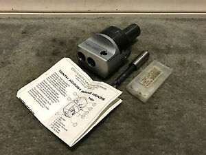 Criterion Boring Head 1 25 Shank Cnc Tabh 300d Micro Tenth Adjust Type