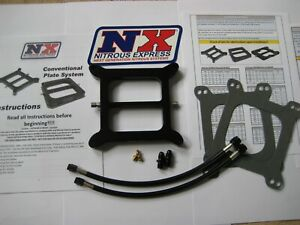 Must Buy Blackout Nitrous Express Stage 6 hitman Holley 4150 Plate Kit 50 300hp