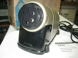 X acto Model 41 Heavy Duty Office Electric Pencil Sharpener Complete In Box