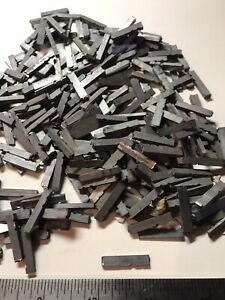Old Letter Press Print Mix Type Set Linotype Lead 40lbs