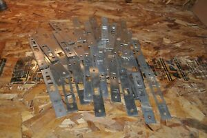 Lot Of 45 Sargent Stainless Steel Mortise Lock Outside Front Plates