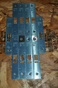 Lot Of 10 Sargent Stainless Steel Mortise Lock Outside Front Plates 804 h Nos