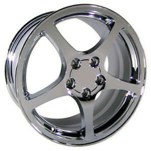 Chrome Wheel 18x9 5 For 1993 2002 Chevy Camaro Owh0081
