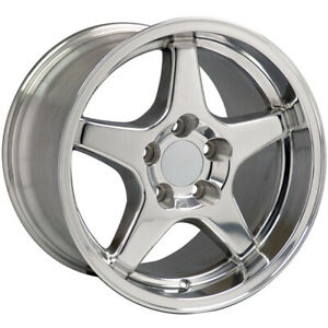 Polished Wheel 17x11 For 1993 2002 Chevy Camaro Owh0115