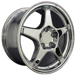 Chrome Wheel 17x9 5 For 1993 2002 Chevy Camaro Owh0118