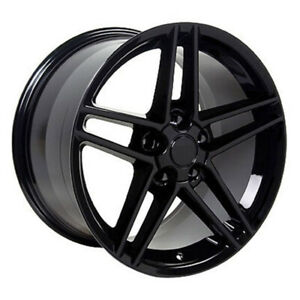 Black Wheel 18x10 5 For 1993 2002 Chevy Camaro Owh0293