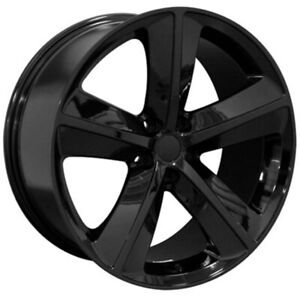 Black Wheel 20x9 For 2005 2014 Chrysler 300 Owh0529