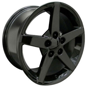 Black Wheel 17x8 5 For 1993 2002 Chevy Camaro Owh0729