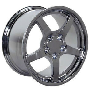 Chrome Wheel 18x9 5 For 1993 2002 Chevy Camaro Owh1048