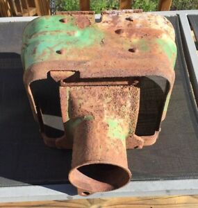 John Deere 40 420 430 320 330 Tractor Pto Shield With Casting M2065t