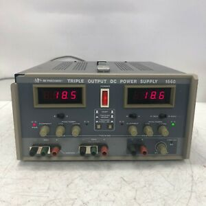 Bk Precision 1660 Triple Dc Power Supply Used Tested And Working Nice